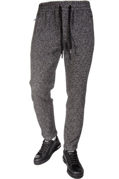 DOLCE & GABBANA Wool Stretch Pants