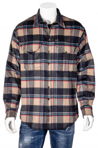 DSQUARED2 Wool Blend Check Shirt