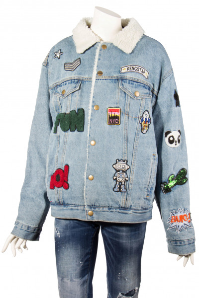 KENGSTAR Denim Jacket Patches