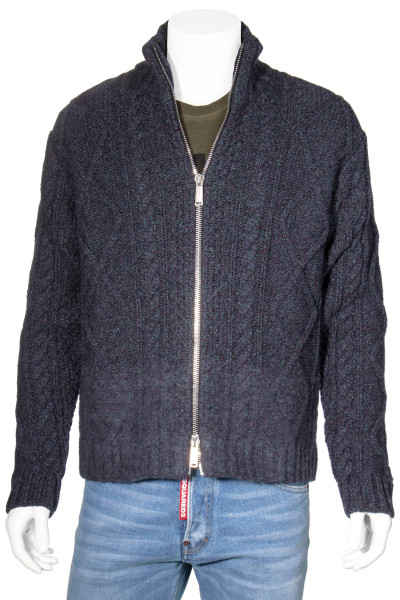 DSQUARED2 Wool Knit Jacket