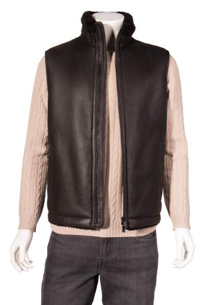 ZZEGNA Leather Vest