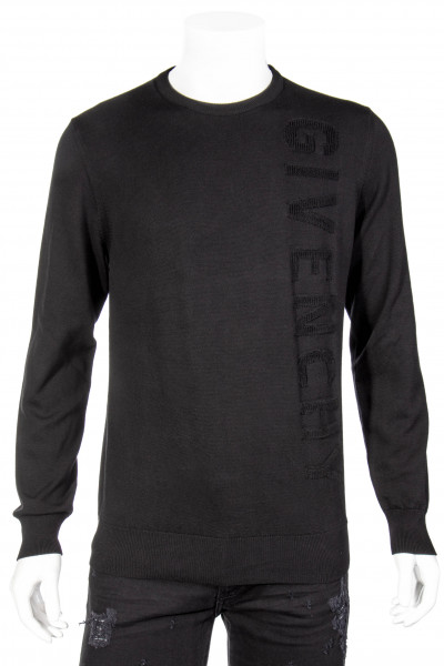GIVENCHY Logo Cotton Knit Sweater