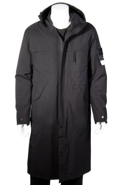 STONE ISLAND Hooded Double Layer Jacket