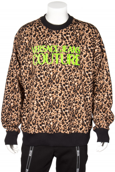 VERSACE JEANS COUTURE Neon Logo Sweater