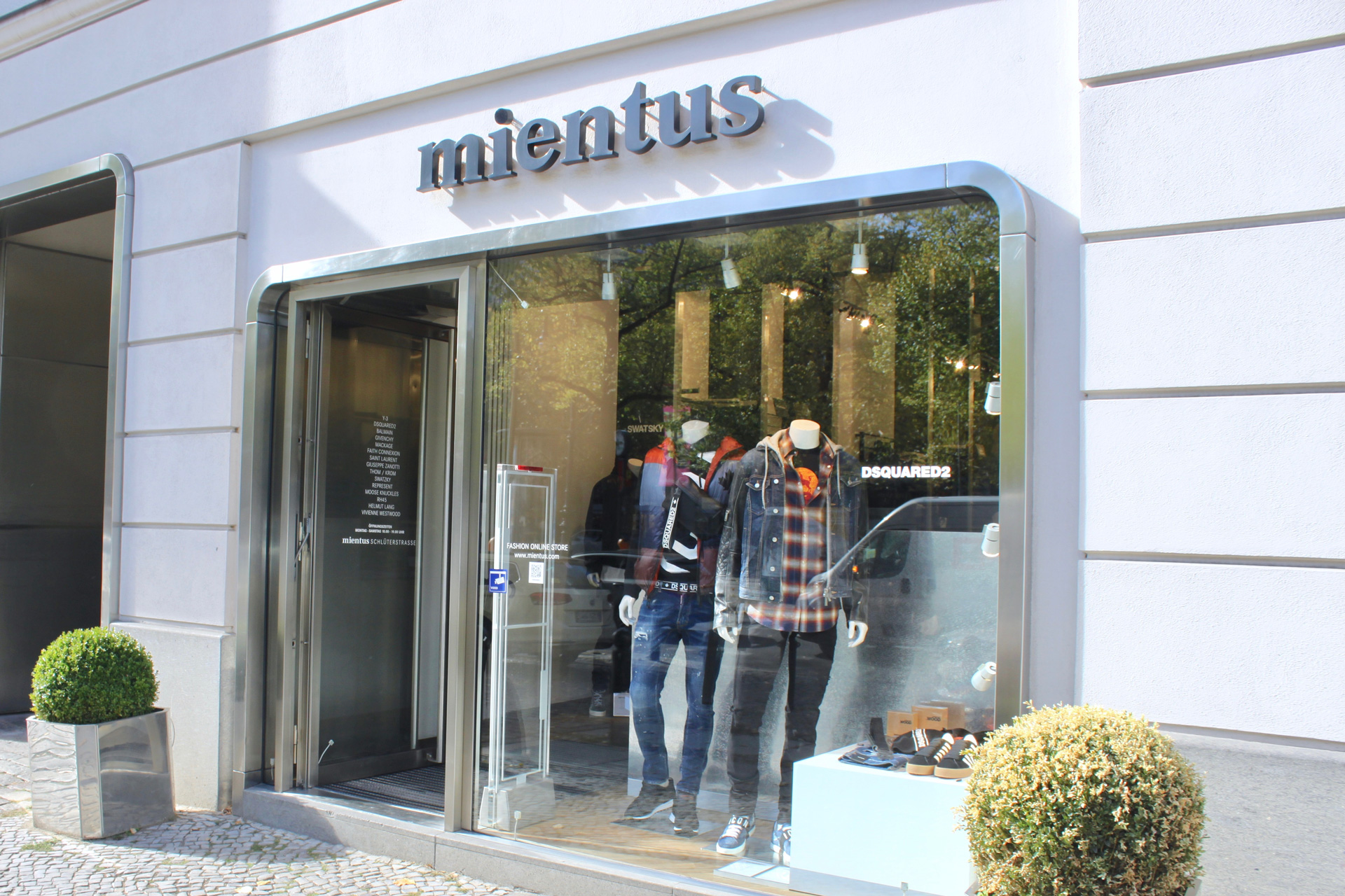 Neuer Wall | Stores | mientus Online Store