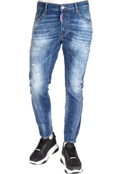 DSQUARED2 Tidy Biker Jeans Cloudy Wash