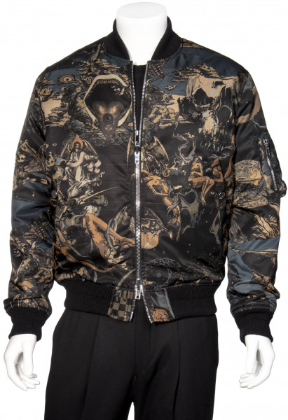 GIVENCHY Reversible Bomberjacket Allover Print