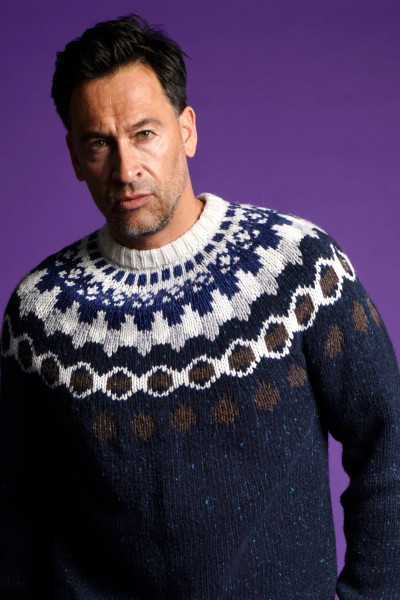 WOOLRICH Nordic Wool Mix Knit Sweater