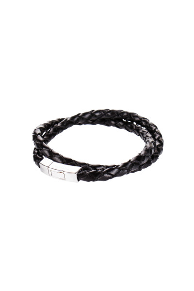 TATEOSSIAN Double Leather Bracelet