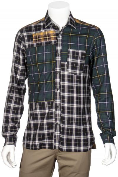 LANVIN Cotton Shirt Patchwork