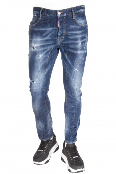 DSQUARED2 Tidy Biker Jeans Horny Baby