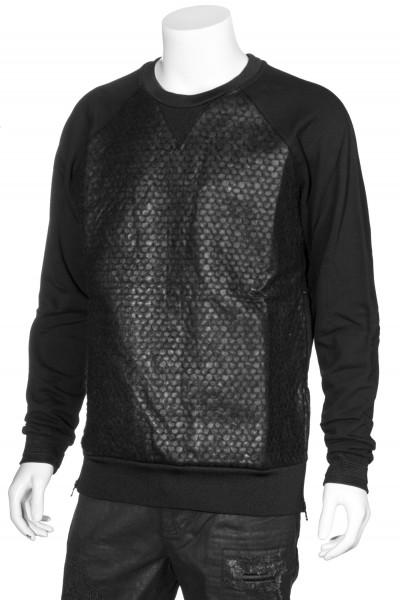RH45 Sweatshirt Structured Zip Details