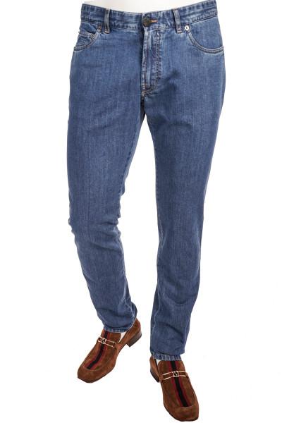 BRIONI Cotton Silk Jeans