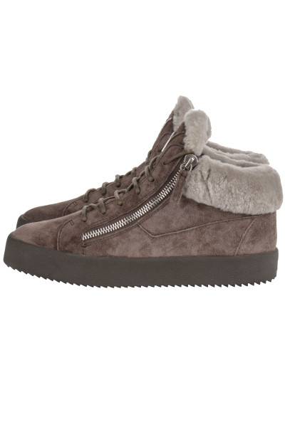 GIUSEPPE ZANOTTI Mid Top Sneakers Sensory
