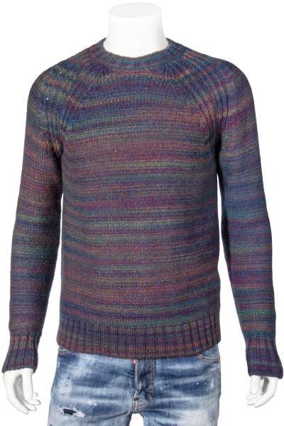 ROBERTO COLLINA Knit Sweater Bluette