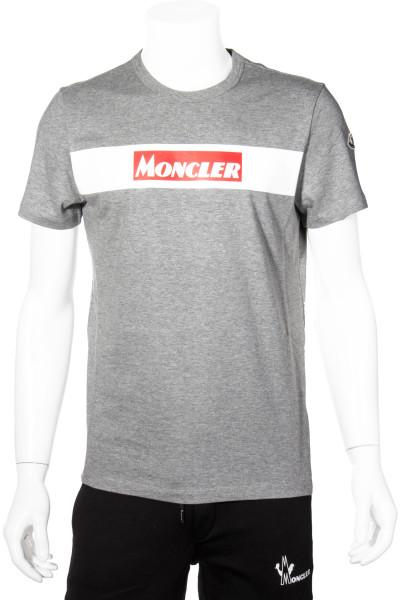 MONCLER T-Shirt Printed Logo