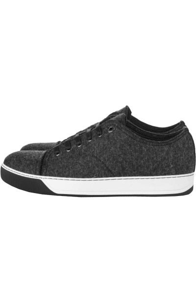 LANVIN Wool Tennis Sneakers