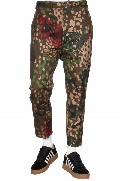 VIVIENNE WESTWOOD Camouflage Pants