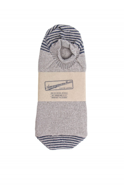 ANONYMOUS ISM Socks Silk Cotton No 01