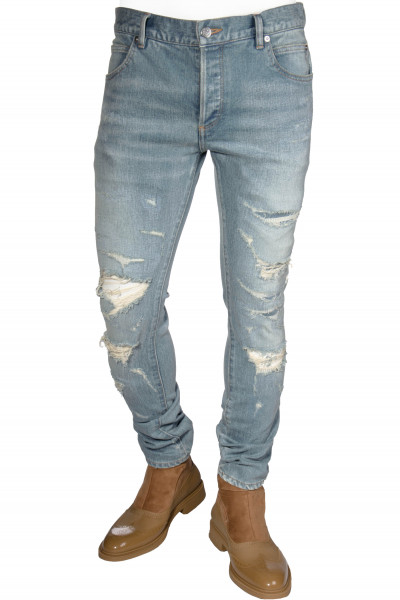BALMAIN Jeans Destroyed