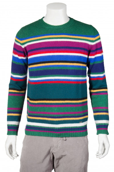 WOOLRICH Knit Sweater Womag Striped