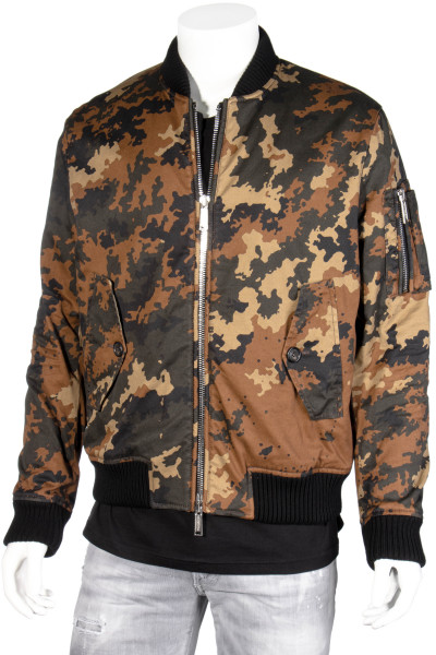 DSQUARED2 Camouflage Bomber