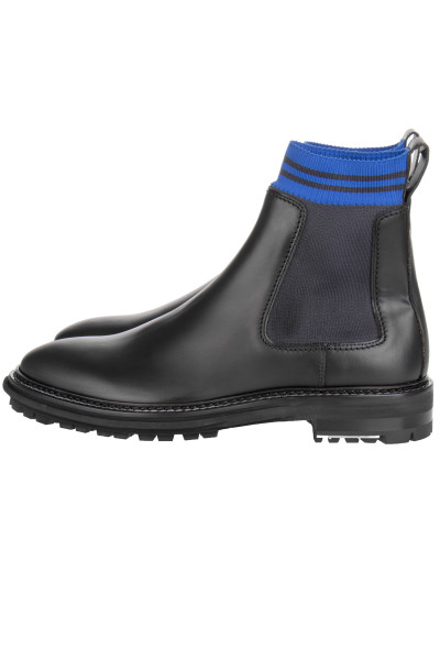 LANVIN Chelsea Boot With Sock