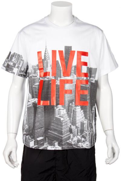 NEIL BARRETT T-Shirt Live Life