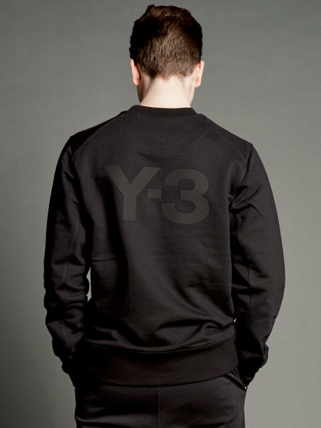 Y-3 Classic Crew Logo Sweater