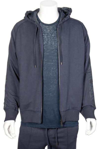 ETRO Cotton Cashmere Zip-Hoodie