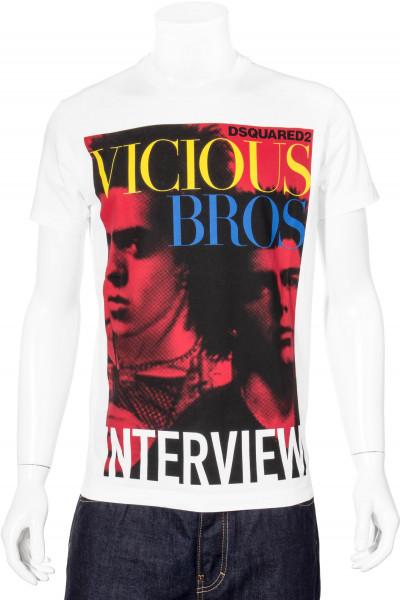 DSQUARED2 T-Shirt VICIOUS Print