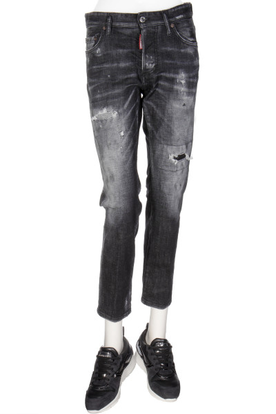 DSQUARED2 Jeans Night Fox Wash Boyfriend