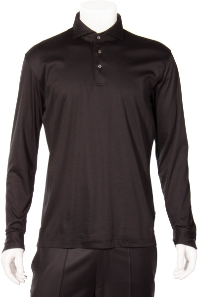 VON LAACK Jersey Longsleeve Polo Shirt