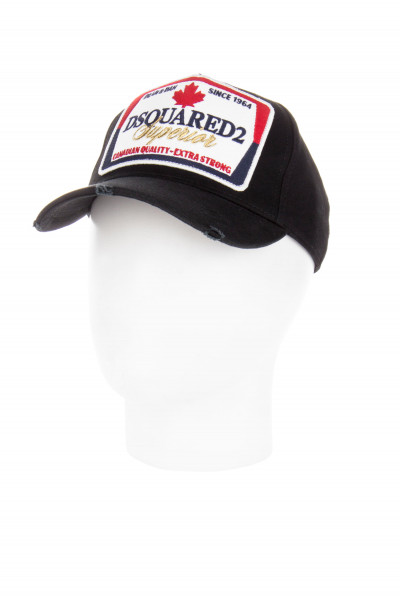 DSQUARED2 Embroidered Logo Superior Patch Cap