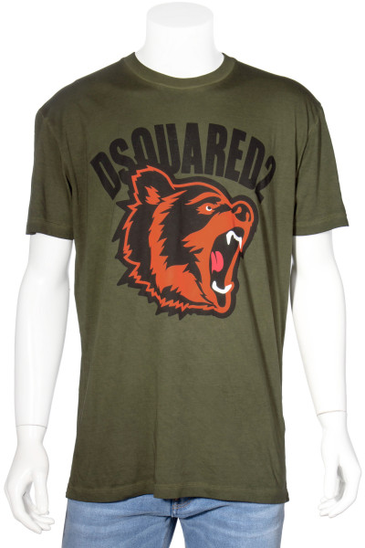 DSQUARED2 T-Shirt Bear Print