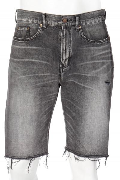 SAINT LAURENT Distressed Shorts