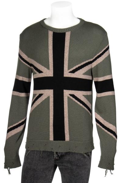 VALENTINO Destroyed Cashmere Sweater