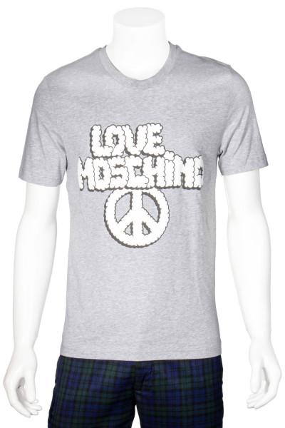 LOVE MOSCHINO T-Shirt Printed Peace