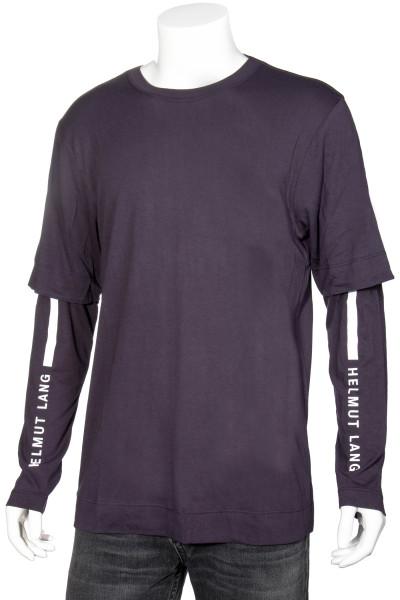 HELMUT LANG Double Longsleeve Logo T-Shirt