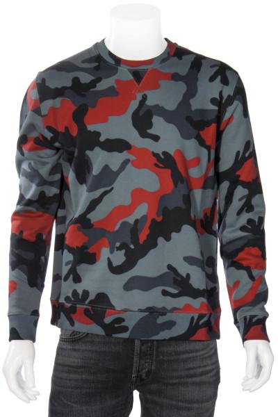 VALENTINO Sweatshirt Camouflage Print