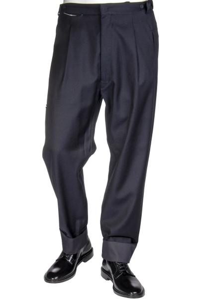 MAISON FLANEUR Cotton/ Wool Pants