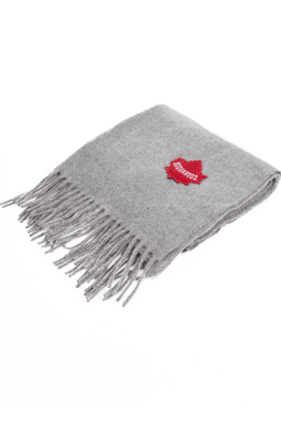 DSQUARED2 Logo Patch Scarf