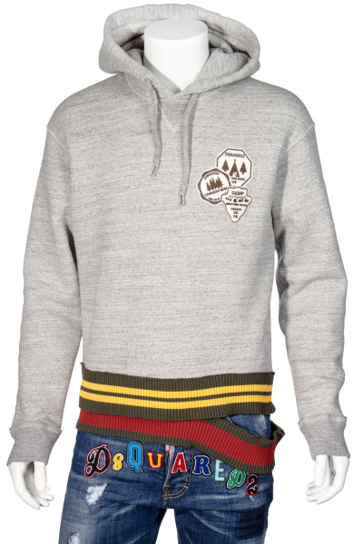 DSQUARED2 Hoodies Camp Patches