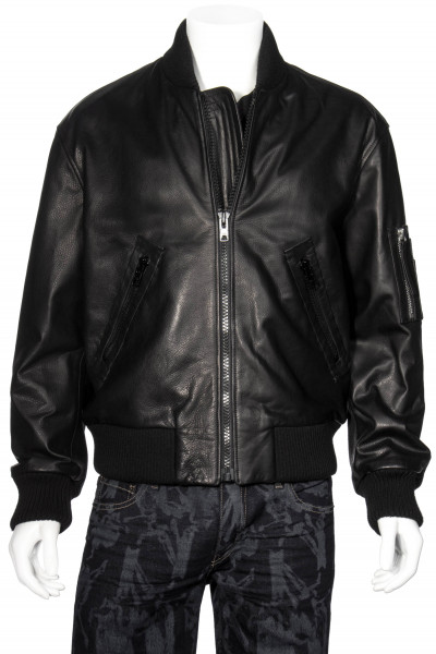 SWATSKY Leather Bomber