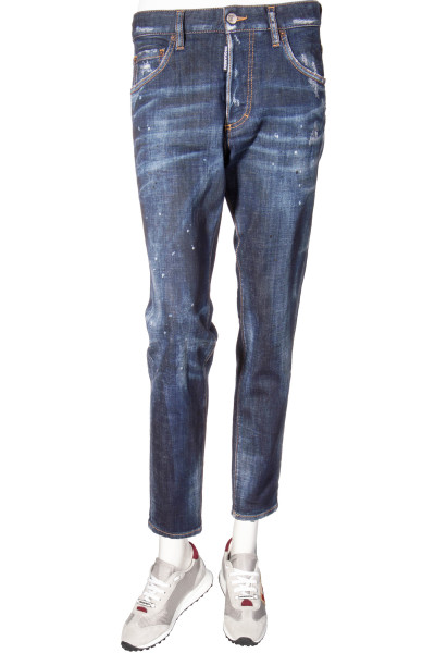 DSQUARED2 Jeans Skinny Dan Distressed Spots