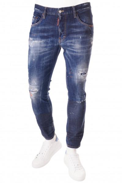 DSQUARED2 Skater Dark Orange Jeans