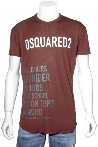 DSQUARED2 Wool T-Shirt Printed