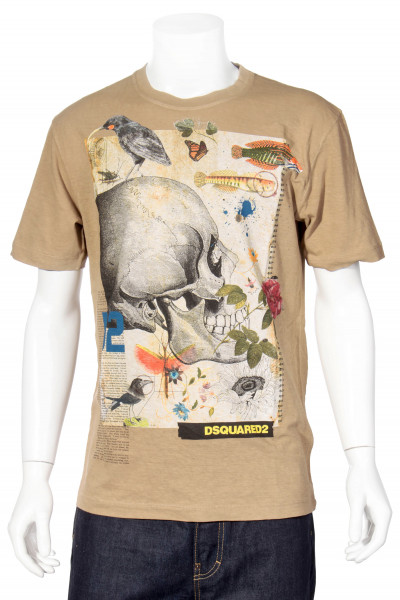 DSQUARED2 T-Shirt Printed Skull
