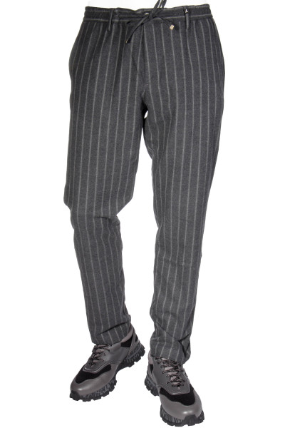 MYTHS Pinstripe Pants