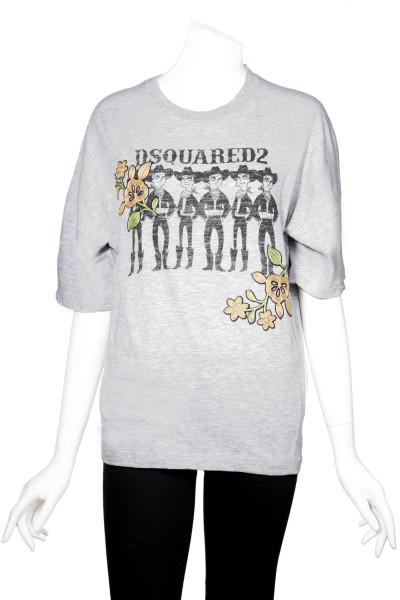 DSQUARED2 T-Shirts Printed Cowboy